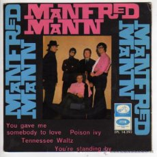 Discos de vinilo: MANFRED MANN - YOU GAVE ME SOMEBODY TO LOVE 1966. Lote 52310769