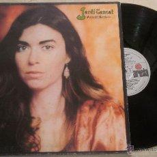 Discos de vinilo: MARIA DEL MAR BONET - JARDI TANCAT - LP ARIOLA 1981. Lote 52310820