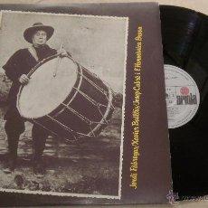 Discos de vinilo: LO PODER DEL CANT' - ORDI FABREGAS, XAVIER BATLLÉS, JOSEP CABRÉ I L'HARMÓNICA BARNA - LP ARIOLA 1980. Lote 52310863
