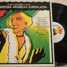 Discos de vinilo: LA COMEDIA MUSICAL CATALANA - MARI SANTPERE - LP NUEVO ZAFIRO 1979. Lote 52311044