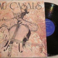 Discos de vinilo: PAU CASALS. LA NIT DE NADAL - EL PLOR DE L´INFANT JESUS - LP DISCOPHON. 1974. Lote 52311081