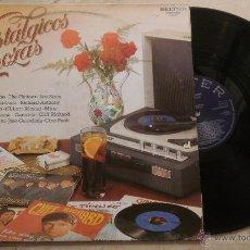 Discos de vinilo: NOSTALGICOS CARROZAS - LP 1981. Lote 52311121