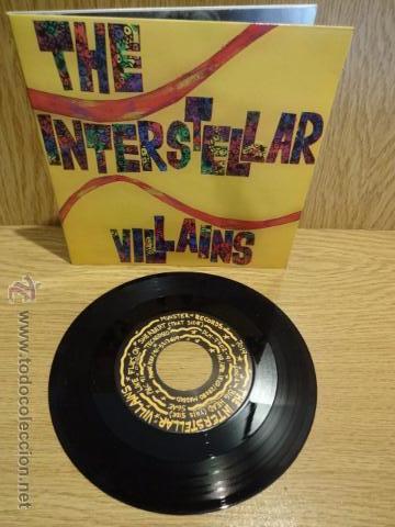 THE INTERSTELLAR VILLAINS. BIG HEAD. SG-GATEFOLD / MUNSTER RECORDS - 1991. CALIDAD LUJO. ****/**** (Música - Discos - Singles Vinilo - Grupos Españoles de los 90 a la actualidad)