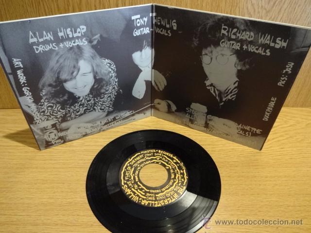 Discos de vinilo: THE INTERSTELLAR VILLAINS. BIG HEAD. SG-GATEFOLD / MUNSTER RECORDS - 1991. CALIDAD LUJO. ****/**** - Foto 2 - 52311768