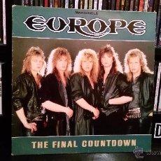 Discos de vinilo: EUROPE - THE FINAL COUNTDOWN. Lote 52316811