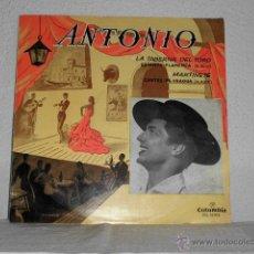 Discos de vinilo: LP ANTONIO-LA TABERNA DEL TORO-COLUMBIA 1958. Lote 52318161