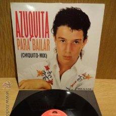 Discos de vinilo: AZUQUITA. PARA BAILAR (CHIQUITO-MIX) MAXI SINGLE / POLYDOR - 1993. CALIDAD LUJO. ****/****. Lote 52318291