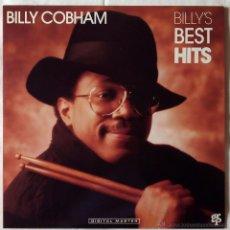 Discos de vinilo: BILLY COBHAM, BILLY'S BEST HITS (GRP 1988) LP USA - ENCARTE - RON CARTER GROVER WASHINGTON. Lote 52318864