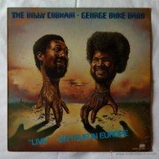 Discos de vinilo: BILLY COBHAM GEORGE DUKE BAND, THE - LIVE ON TOUR IN EUROPE (HISPAVOX 1976) LP - JOHN SCOFIELD. Lote 52318909