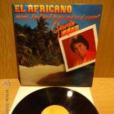 Discos de vinilo: GEORGIE DANN. EL AFRICANO. LP-PROMO / RCA - 1985. MUY BUENA CALIDAD. ***/***. Lote 52319971