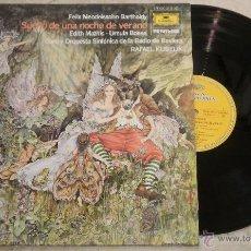 Discos de vinilo: SUEÑO DE UNA NOCHE DE VERANO - FELIX MENDELSON. Lote 52321344