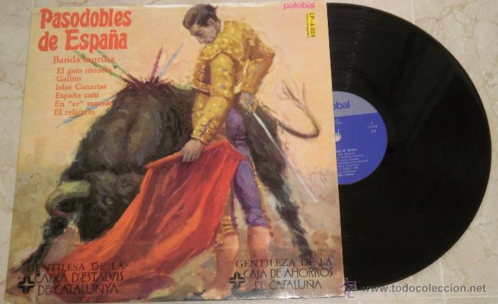 PASODOBLES DE ESPAÑA BANDA TAURINA. LP. LA VIRGEN DE LA MACARENA. MADE IN SPAIN. 1981(Música - Discos - LP Vinilo - Clásica, Ópera, Zarzuela y Marchas)