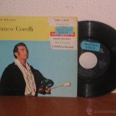 Discos de vinilo: FRANCO CORELLI 7´´ MEGA RARO EXTENDED PLAY ESPAÑA 1964. Lote 52322078