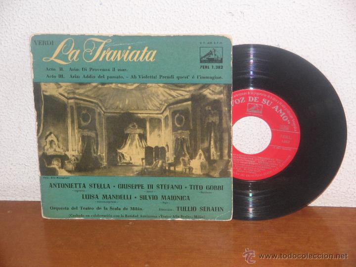 GIUSEPPE DI STEFANO 7´´ MEGA RARO EXTENDED PLAY ESPAÑA 1960 (Música - Discos - Singles Vinilo - Clásica, Ópera, Zarzuela y Marchas)