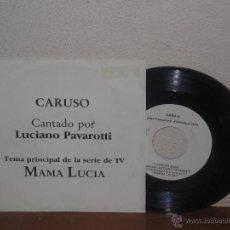 Discos de vinilo: LUCIANO PAVAROTTI (LOS TRES TENORES) 7´´ MEGA RARO PROMO ESPAÑA. Lote 52322692