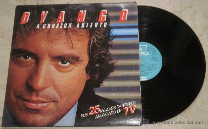 DYANGO - A CORAZON ABIERTO - DOBLE LP - LP EMI 1983(Música - Discos de Vinilo - Maxi Singles - Solistas Españoles de los 70 a la actualidad)