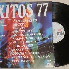 Discos de vinilo: EXITOS 77 -LP ARIOLA 1977. Lote 52322831