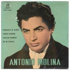 Discos de vinilo: ANTONIO MOLINA - EP 1962. Lote 52323569