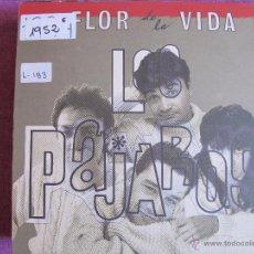 Discos de vinilo: LP - LOS PAJAROS - LA FLOR DE LA VIDA (SPAIN, FUN RECORDS 1990). Lote 52327520