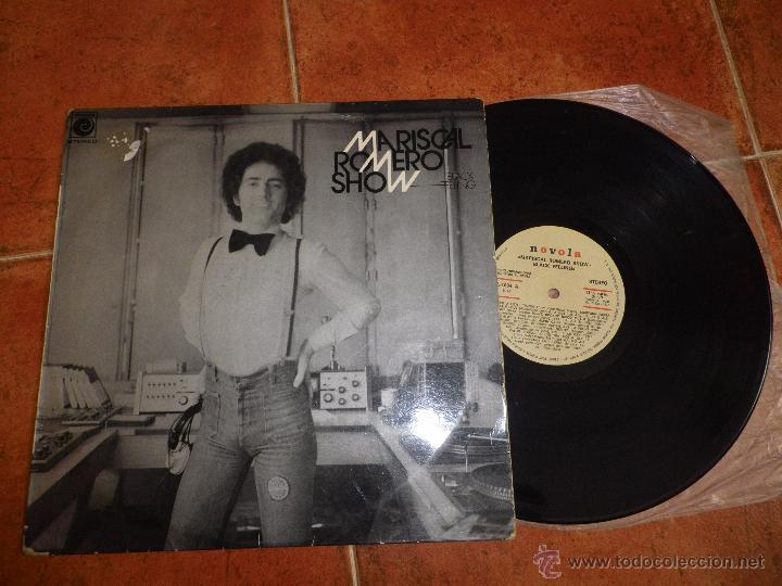 MARISCAL ROMERO SHOW BLACK FEELING LP VINILO PROMO ESPAÑOL DEL AÑO 1977 10 TEMAS HEAVY MUY RARO (Música - Discos de Vinilo - Maxi Singles - Grupos Españoles de los 70 y 80)