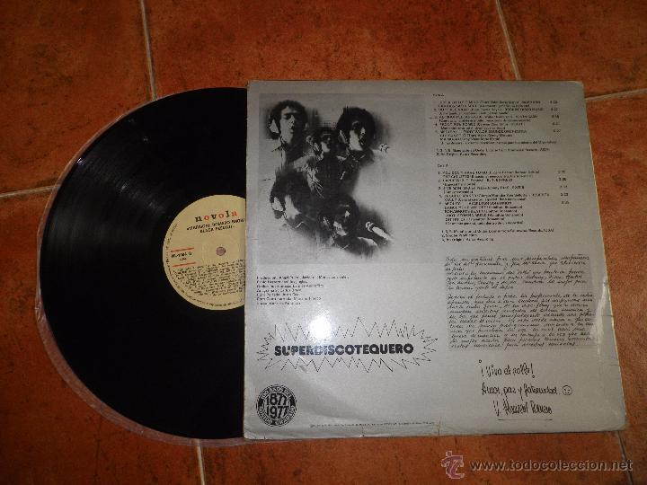 Discos de vinilo: MARISCAL ROMERO SHOW BLACK FEELING LP VINILO PROMO ESPAÑOL DEL AÑO 1977 10 TEMAS HEAVY MUY RARO - Foto 2 - 52327618