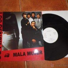 Discos de vinilo: LOS SENCILLOS MALA MUJER / SEÑORITA MAXI SINGLE VINILO PROMO ESPAÑOL 1990 MIQUI PUIG 2 TEMAS. Lote 52328153