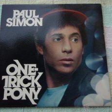 Discos de vinilo: PAUL SIMON ( ONE-TRICK PONY ) USA - 1980 LP33 WARNER BROS RECORDS. Lote 52328651