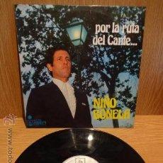 Discos de vinilo: NIÑO BONELA. POR LA RUTA DEL CANTE. LP / DIRESA - 1973. BUENA CALIDAD. ***/***. Lote 52329609