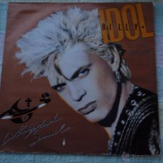 Discos de vinilo: BILLY IDOL ( WHIPLASH SMILE ) ENGLAND - 1986 LP33 CHRYSALIS RECORDS. Lote 52333037