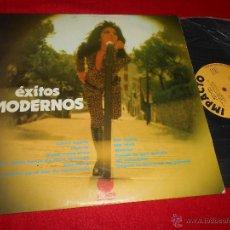 Discos de vinilo: VOCES UNIDAS EXITOS MODERNOS LP 1974 IMPACTO BEATLES. Lote 52333673