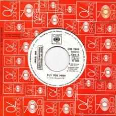 Discos de vinilo: JANIS IAN-FLY TOO HIGH SINGLE VINILO 1979 PROMOCIONAL SIN PORTADA SPAIN. Lote 52338551