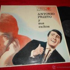 Discos de vinilo: ANTONIO PRIETO Y SUS EXITOS LP 1962 RCA VICTOR EDICION ESPAÑOLA SPAIN EX. Lote 52340416