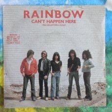 Discos de vinilo: RAINBOW - CAN'T HAPPEN HERE / JEALOUS LOVER // SINGLE 1981 // RITCHIE BLACKMORE // A ESTRENAR. Lote 52340478