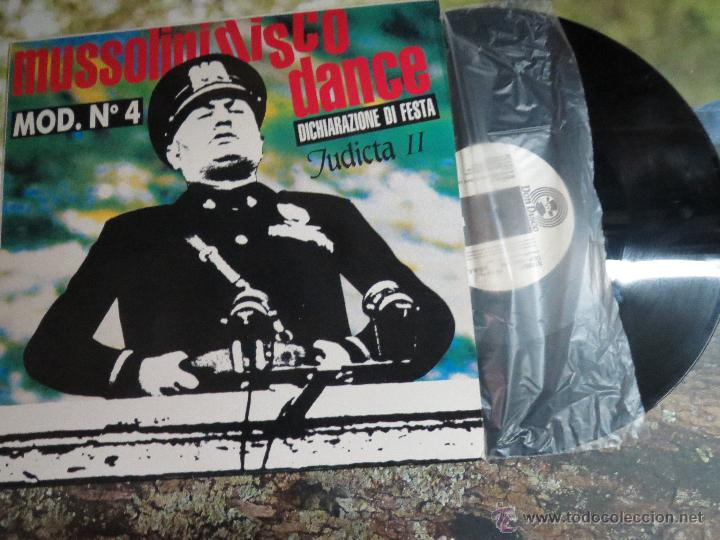MUSSOLINI DISCO (Música - Discos de Vinilo - Maxi Singles - Otros estilos)
