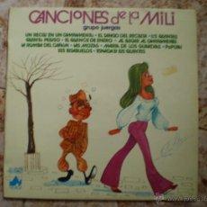 Discos de vinilo: LP. GRUPO JUERGAS. CANCIONES DE LA MILI. AÑO 1978. Lote 52344446