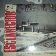 Discos de vinilo: ESCLARECIDOS - POR AMOR AL COMERCIO + CUAL ES LA DIFERENCIA? - SINGLE. Lote 52349213