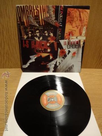 LOS FLOTADORES- HOMBRESTONES - WONKHAI PALMA - LA ORDEN. MAXI SG-PROMO / RNE - 1992. ***/*** (Música - Discos de Vinilo - Maxi Singles - Pop - Rock Internacional de los 90 a la actualidad)