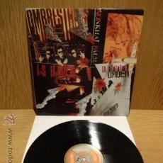 Discos de vinilo: LOS FLOTADORES- HOMBRESTONES - WONKHAI PALMA - LA ORDEN. MAXI SG-PROMO / RNE - 1992. ***/***. Lote 52351063