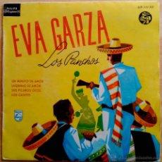 Discos de vinilo: EVA GARZA, LOS PANCHOS - UN MINUTO DE AMOR, LÁGRIMAS DE AMOR, SUS PÍCAROS OJOS, LOS CADETES - EP. Lote 57409905