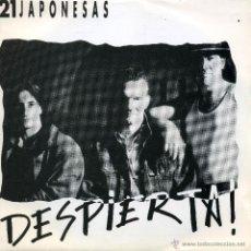 Discos de vinilo: 21 JAPONESAS - DESPIERTA (SINGLE PROMO ESPAÑOL DE 1990). Lote 52357223