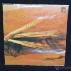 Discos de vinilo: TRIGO LIMPIO - DIEZ AÑOS - LP. Lote 176053928