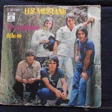 Discos de vinilo: LOS MUSTANG // TU CAMINAR + SOLO TU. Lote 52371123