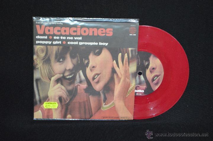 VACACIONES - DANI +3 - EP (Música - Discos de Vinilo - EPs - Grupos Españoles de los 90 a la actualidad)