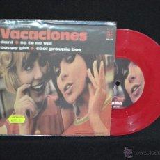 Discos de vinilo: VACACIONES - DANI +3 - EP. Lote 52372035