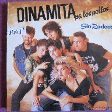 Discos de vinilo: LP - DINAMITA PA LOS POLLOS - SIN RODEOS (SPAIN, GASA 1990). Lote 52373494