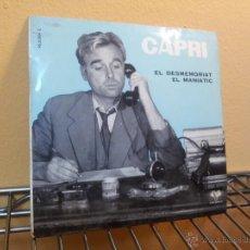 Discos de vinilo: CAPRI EL DESMEMORIAT,EL MANIATIC MONOLOGOS VERGARA 1961. Lote 52374200
