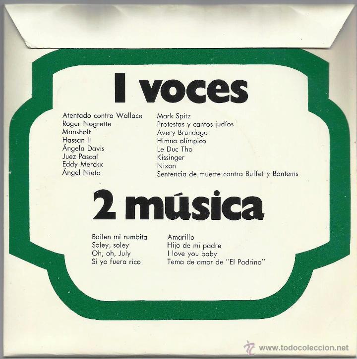 DISCO DE VINILO -365+1 DIAS DE 1972- (Música - Discos - Singles Vinilo - Bandas Sonoras y Actores)