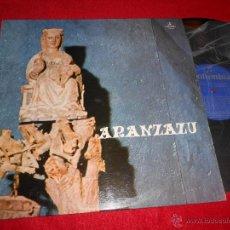 Discos de vinilo: CAPILLA PADRES FRANCISCANOS SANTUARIO ARANZAZU OÑATE ARANZAZU LP 1973 COLUMBIA PROMO EUSKADI. Lote 52386244