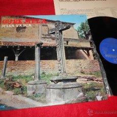 Discos de vinilo: GURE MEZA MISA VASCA GARBIZU+DONOSTIARRA+GOROSTIDI+LIZARDI+TXISTULARIS++ LP 1973 COLUMBIA PROMO EX. Lote 52386310