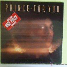 Discos de vinilo: PRINCE - FOR YOU - 1987. Lote 52391062